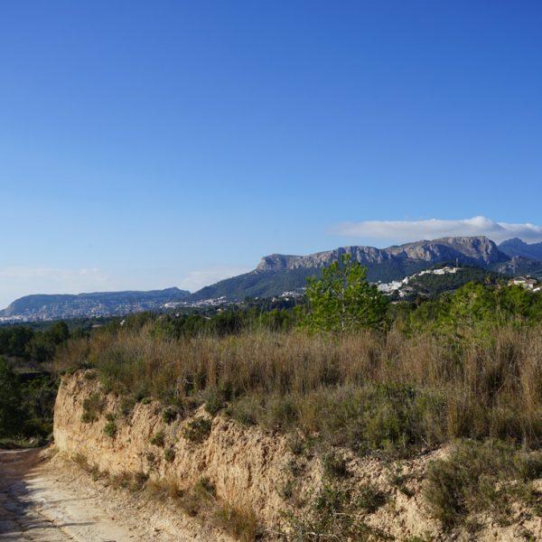 Ausblick in die Sierra de Olta