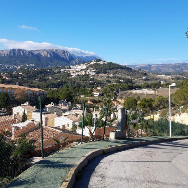 Wandern an der Ermita de la Cometa in Calpe