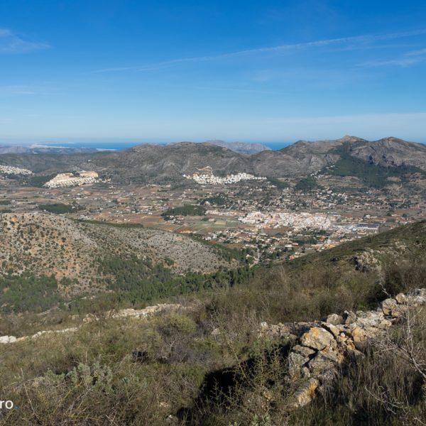 Jalón y Sierra del Castell de la Solana