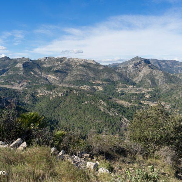 Sierra del Ferrer y Penya Talai