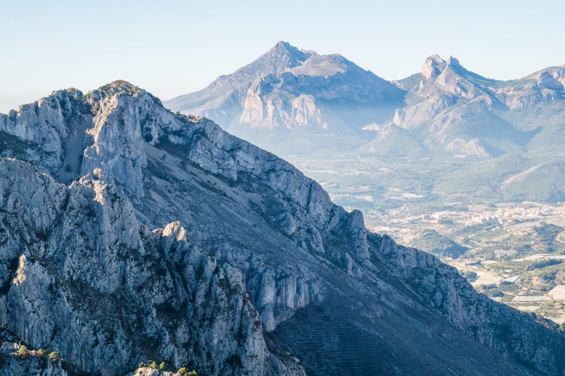 Sierra de Bernia Puig Campana