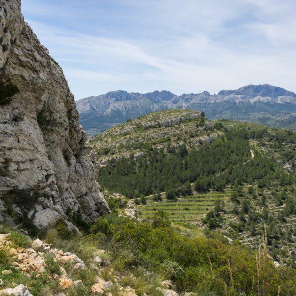 Tossal de Navarro und Sierra de Bèrnia