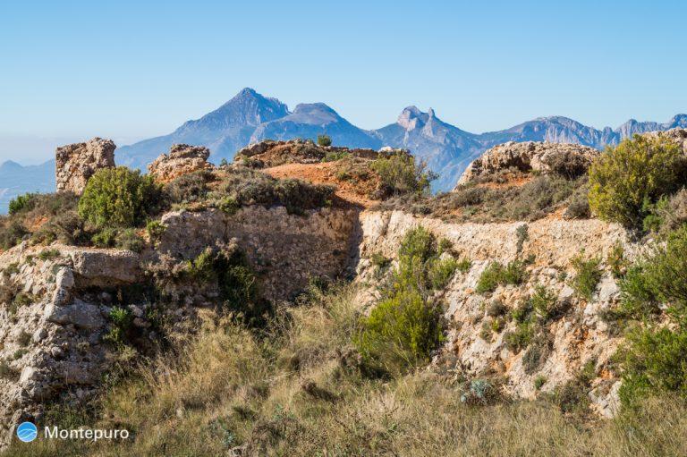 Fort de Bernia, Puig Campana