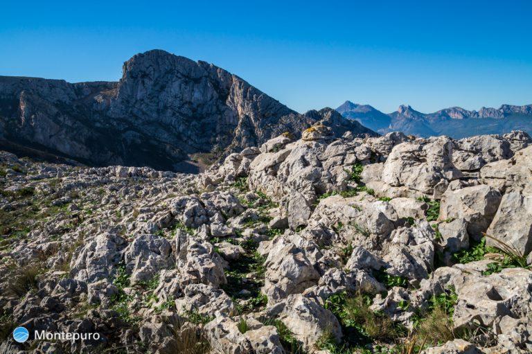 Sierra de Bernia, Morro de l´Aspre, Puig Campana