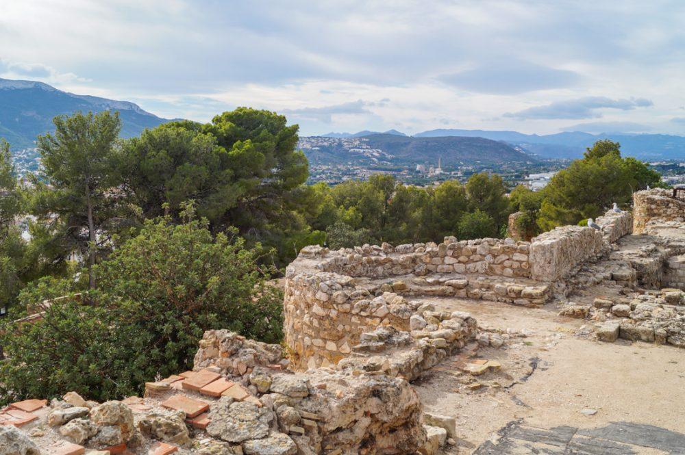 Burganlage Castillo de Dénia, Costa Blanca