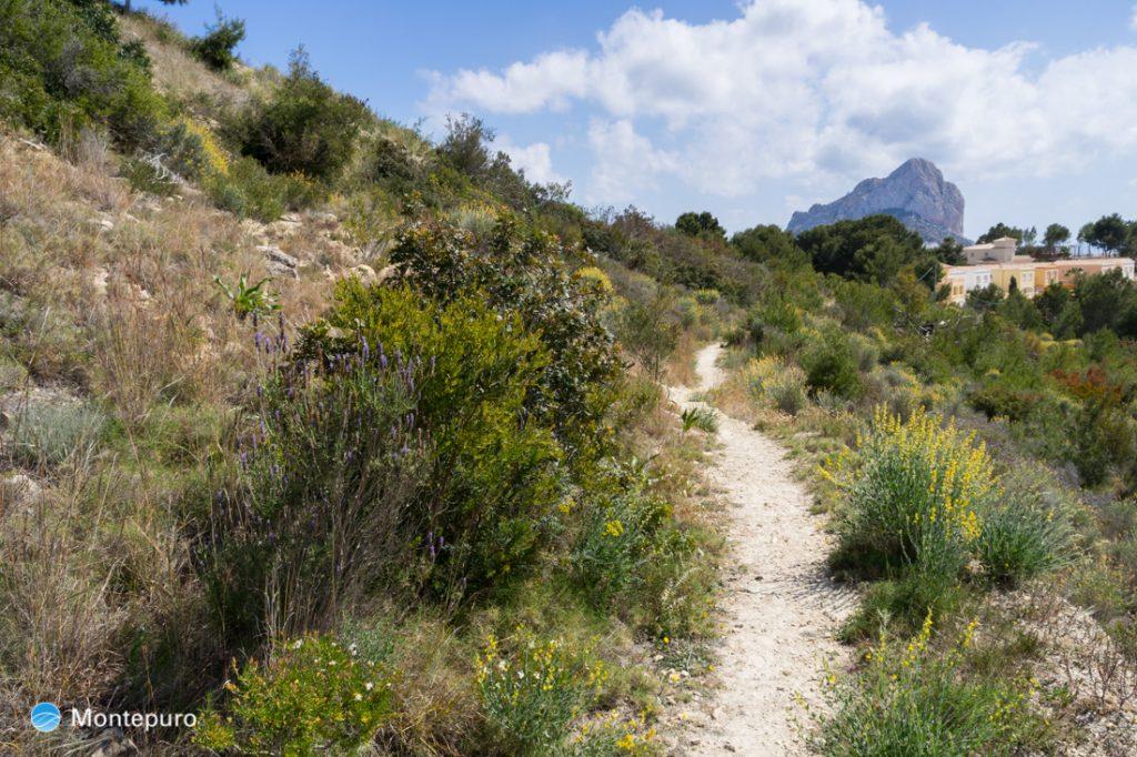 Wanderung zu Casa del Cocó in Calpe