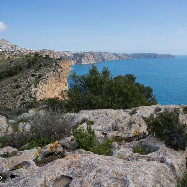 Blick vom Cap d´Or zur Cumbre del Sol