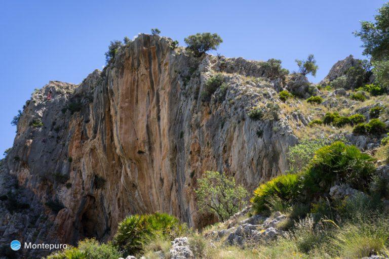 paredes verticales de l´Ocaive, Sierra del Castell de la Solana
