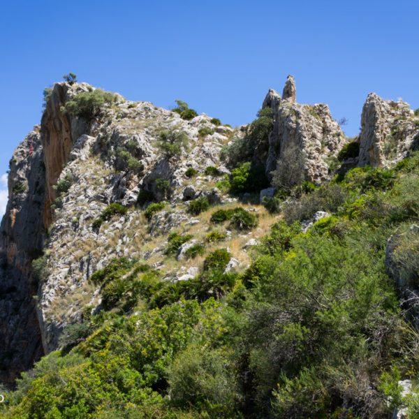 Castell de l´Ocaive, Serra del Castell de la Solana