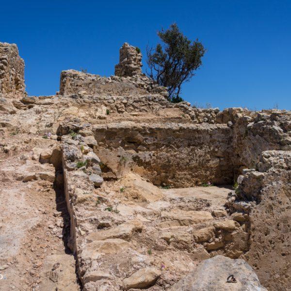 Mauerreste des Castell de l´Ocaive