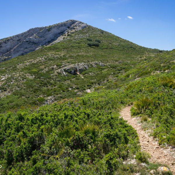 Wanderweg Castell d´Aixa, Serra del Castell de la Solana