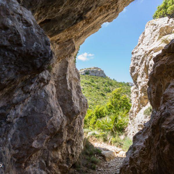 zwischen den Felsen, Abstieg zur Font d´Aixa