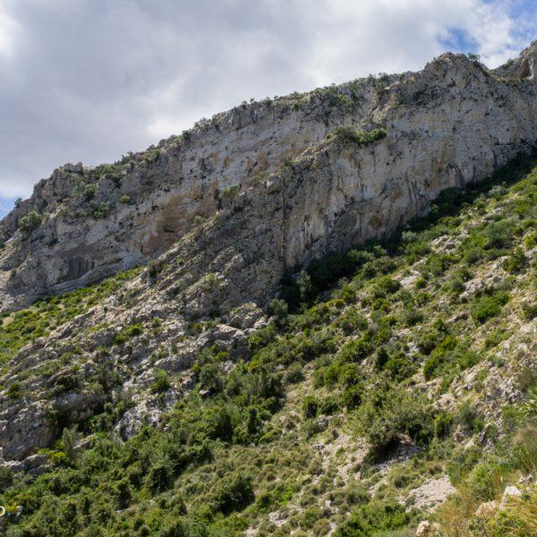 Felsenkette, Aufstieg Castell d´Aixa
