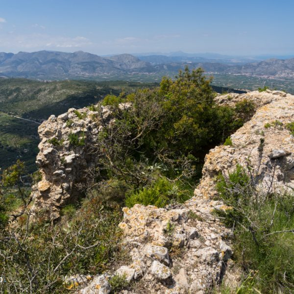Ruine des Wachturmes Castell d´Aixa