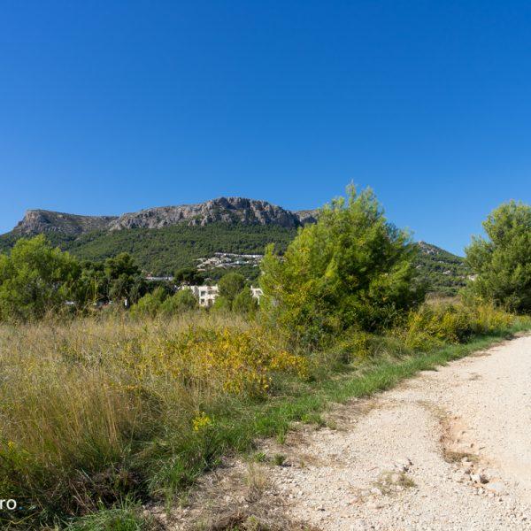 sendero y Sierra de Oltà