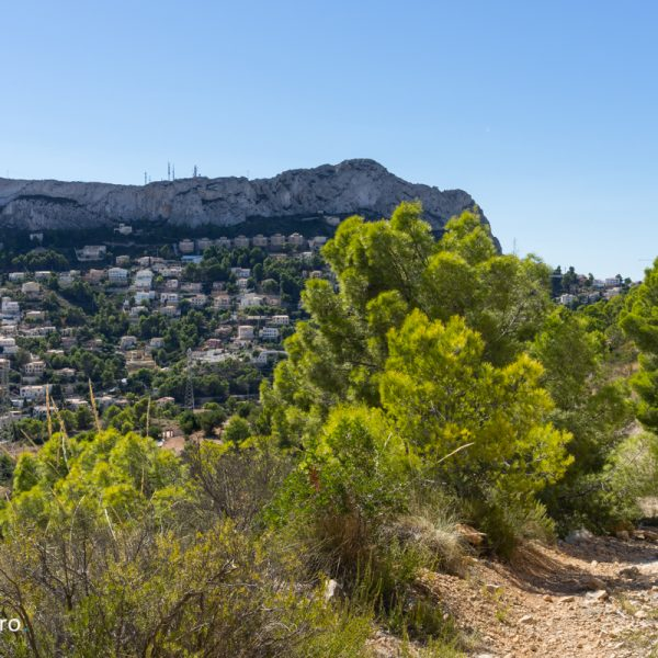 sendero y Morro de Toix, Urbanización Maryvilla