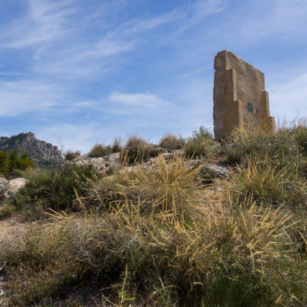 Ruine von Castellet de Calp in Calpe