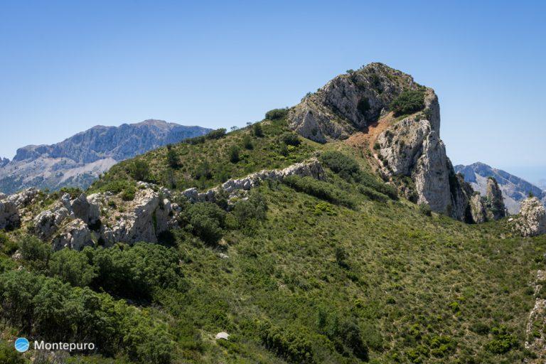 Cresta de Sierra del Ferrer