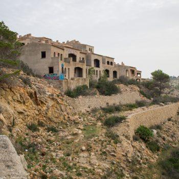 El Greco, urbanización fantasma en el Parque Natural del Montgó