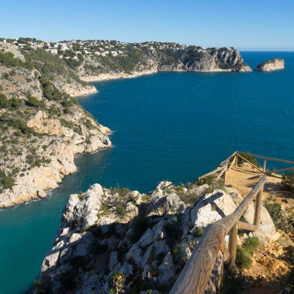 Aussichtspunkt oberhalb der Cala de la Granadella