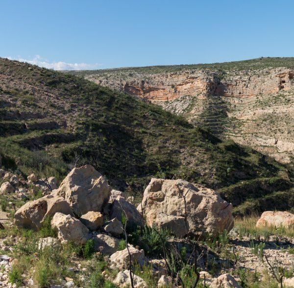 Parque Natural de la Granadella, Barrancos