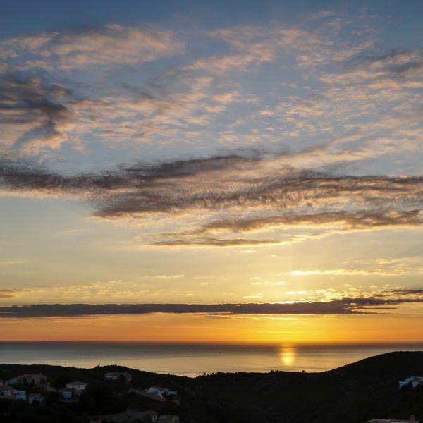 Sonnenaufgang Costa Blanca