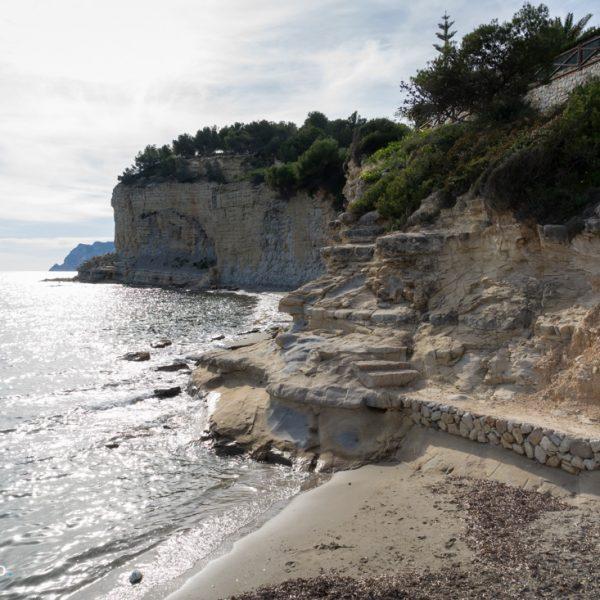 Küstenwanderung Paseo Ecologico, Cala Advocat