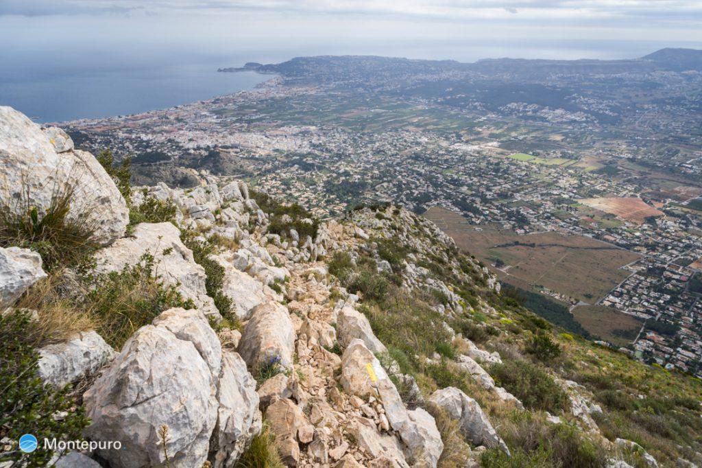 subida al Montgó y panorama de Jávea