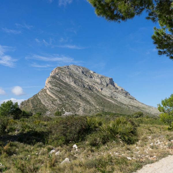 ladera este del Montgó