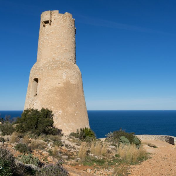 Torre del Gerro en el Parque Natural del Montgó