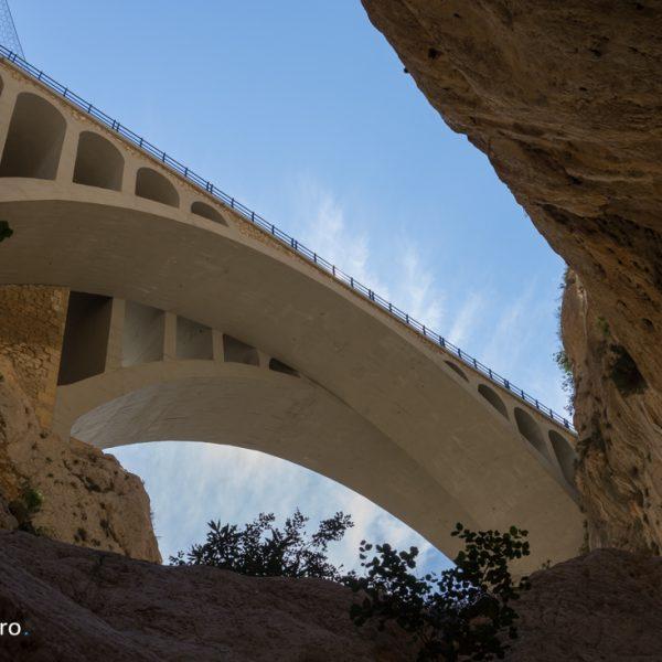 Cañón del Mascarat, puente moderno
