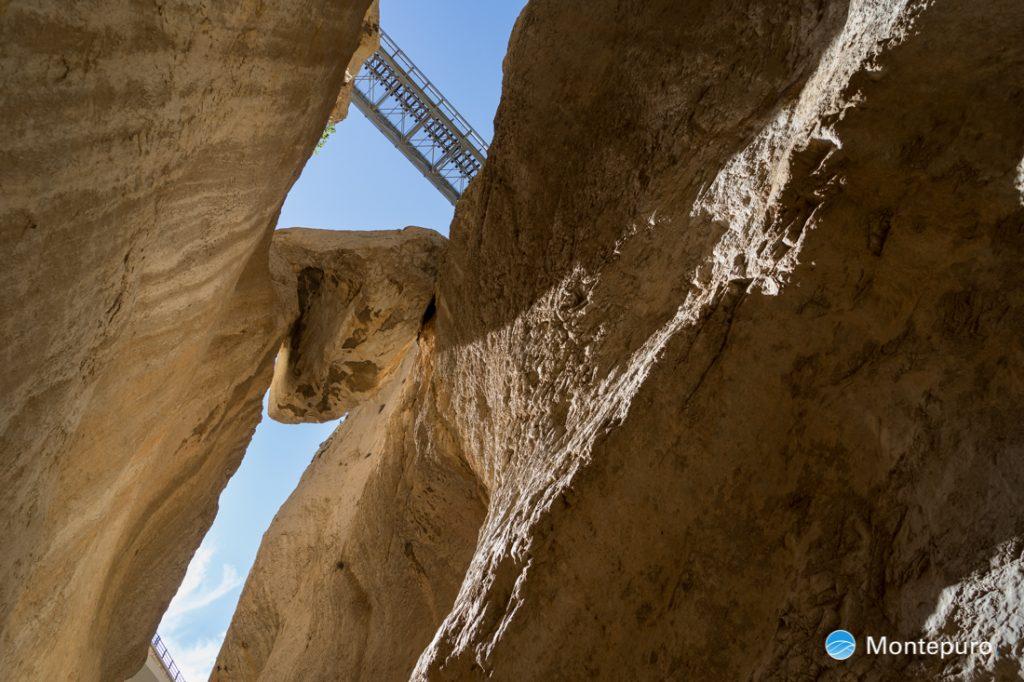 Cañón del Mascarat, rocas impresionantes