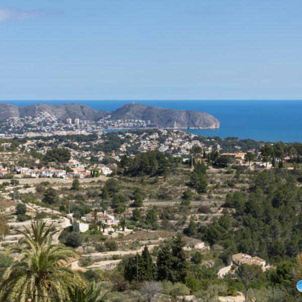 Aussicht zum Cap d´Or Moraira