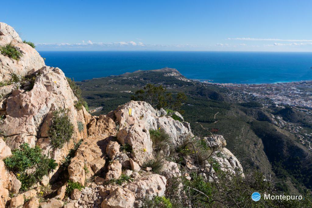 Montgó, vistas de Cabo de San Antonio