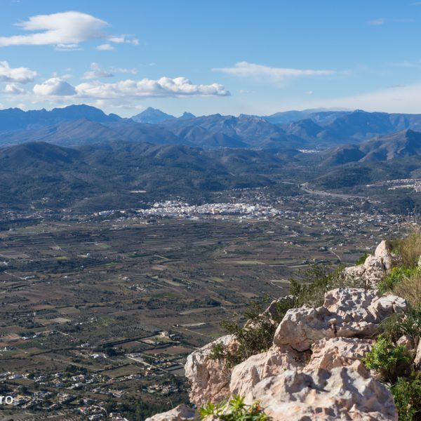 Montgó, vistas de la Marina Alta