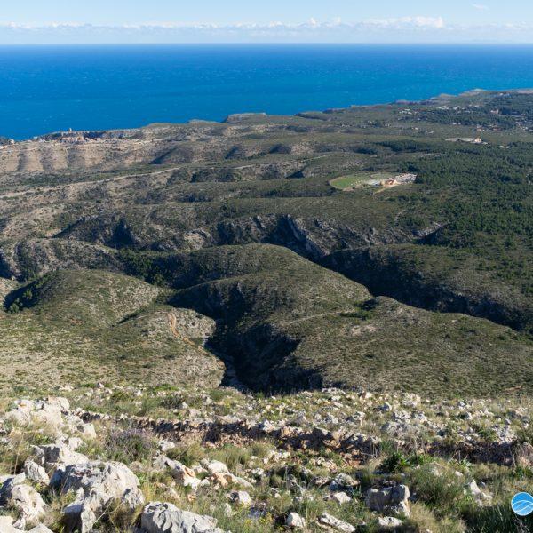 Parque Natural del Montgó, vista del Cabo de San Antonio