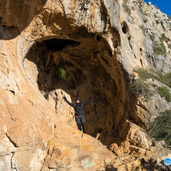 Montgó, entrada de la Cova de l´Aguila o Ampla