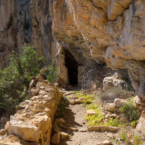 Cova de les Morretes, Moraig-Llebeig