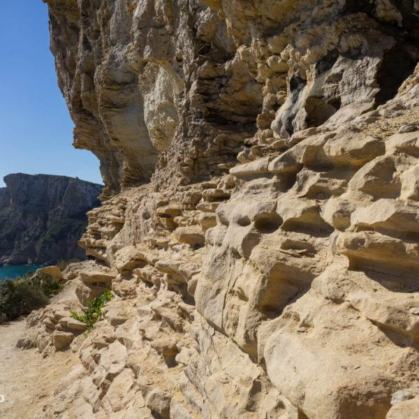 Felsformen, Küstenwanderweg Moraig-Llebeig