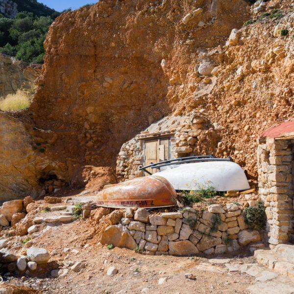 Cala Llebeig rocas y botecitos