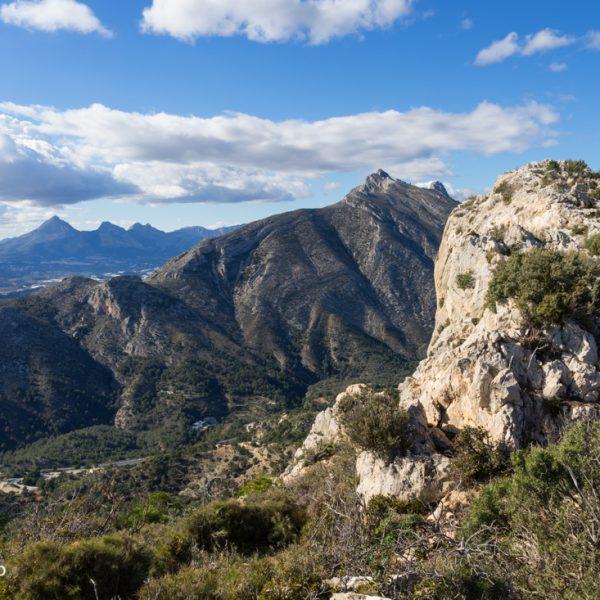 Südgipfel La Mola in der Sierra de Oltà