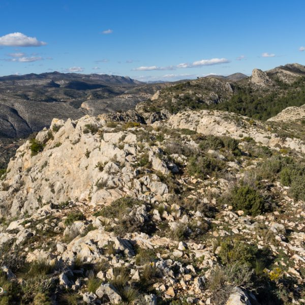 piedras en la Sierra de Oltà