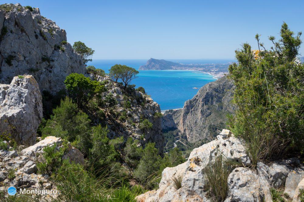 Sierra de Oltà, vistas hacia la Sierra Helada