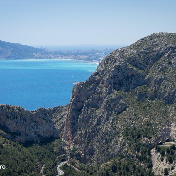 Sierra de Oltà, vistas hacia Mascarat y Sierra Helada