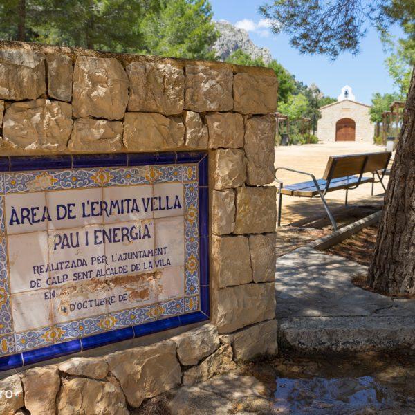 Ermita Vella, Sierra de Oltà