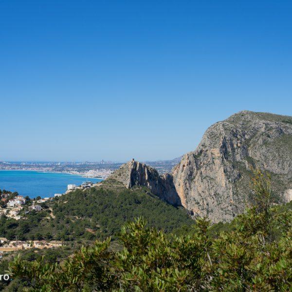 Sierra de Oltà, vistas de Toix y Mascarat