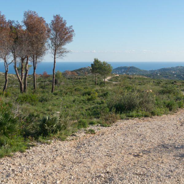 senderismo en el Parque Natural de la Granadella