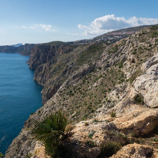 Steilküste im Naturpark Granadella