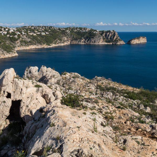 senda en las rocas, Parque Natural de la Granadella
