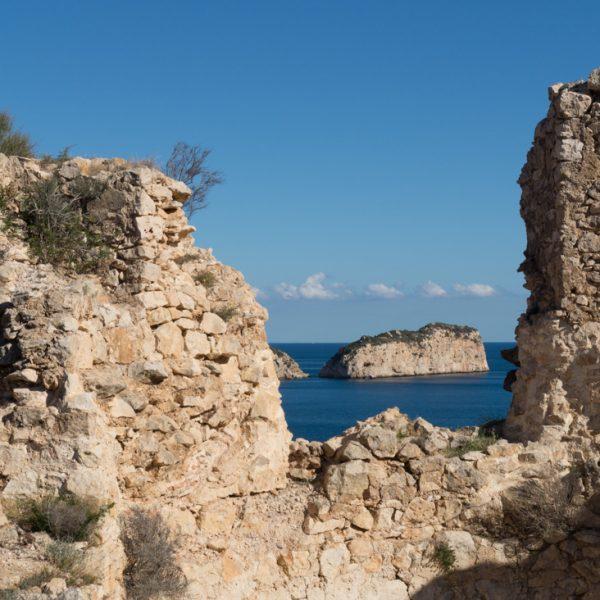 Ruine des Castillo Granadella